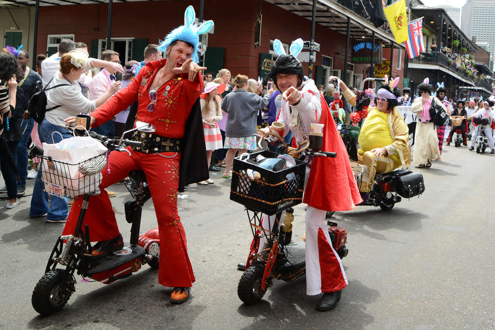 Best easter parades in new orleans 2018 routes times where to easter parade negle Choice Image