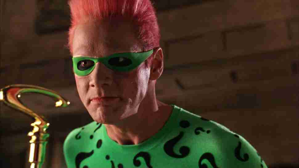 jim carrey in batman forever