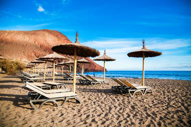 Playa de la tejita, Spain