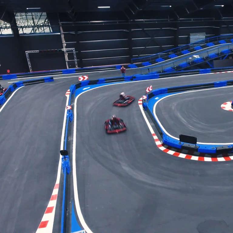 Naskart Is The Largest Multi Level Go Kart Track In World