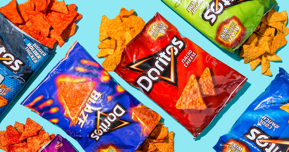 Every Flavor of Doritos, Ranked