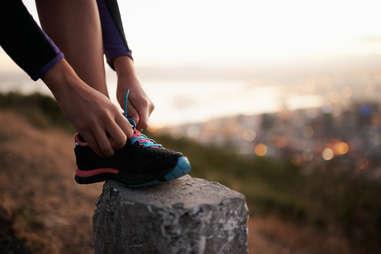 shoe running