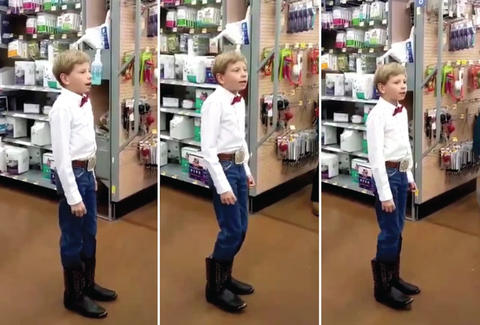 Yodeling Walmart Boy S Viral Song Gets Remixed Amp It S A