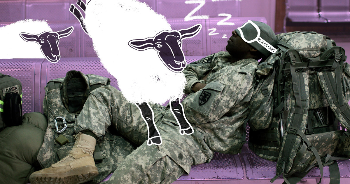 How to Fall Asleep Anywhere, Anytime, According to Military Veterans