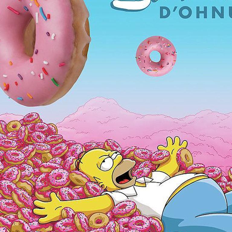 Krispy Kreme Sells 'Simpsons' Doughnuts In Australia