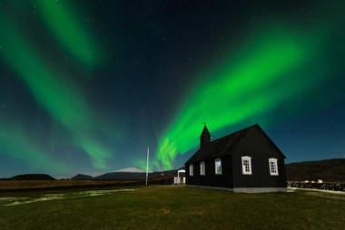 The Black Church Budir, Iceland