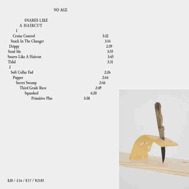 No Age album cover