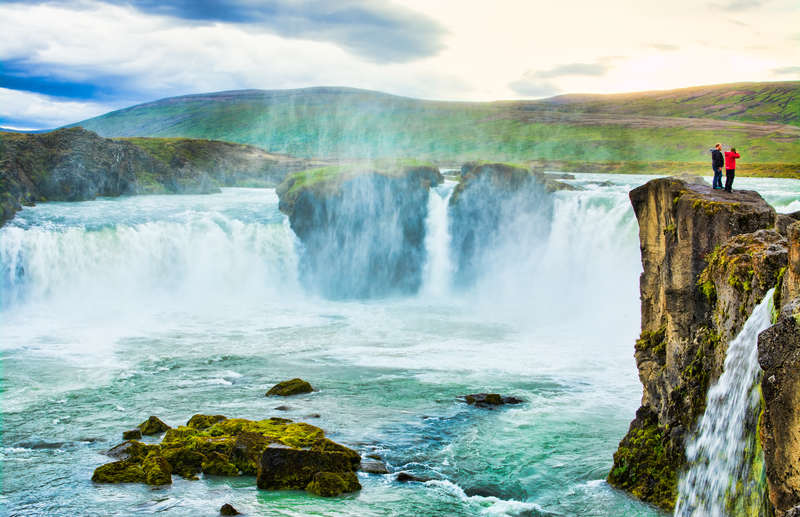 Godafoss waterfalls