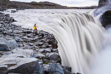 Dettifoss waterfall, Jokulsargljufur National Park