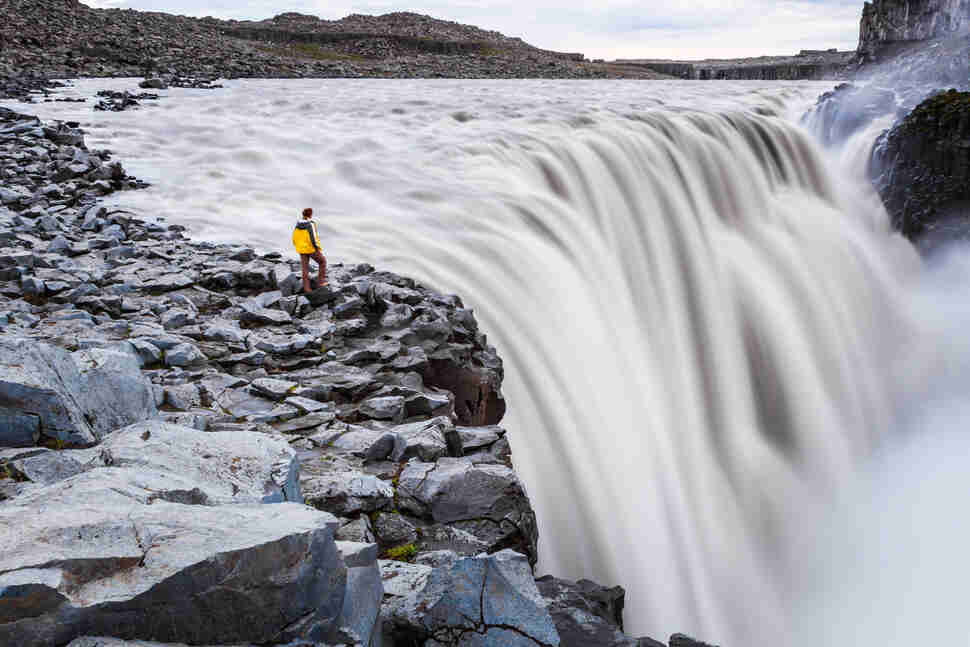 Dettifoss waterfall, Jokulsargljufur National Park