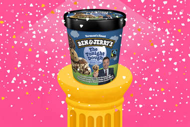 The Tonight Dough ben and jerry's ice cream pint