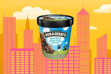 new york super fudge chunk ben and jerry's ice cream pint