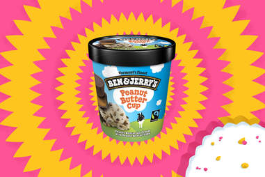 Ben & Jerry's Peanut Butter Cup ice cream pint