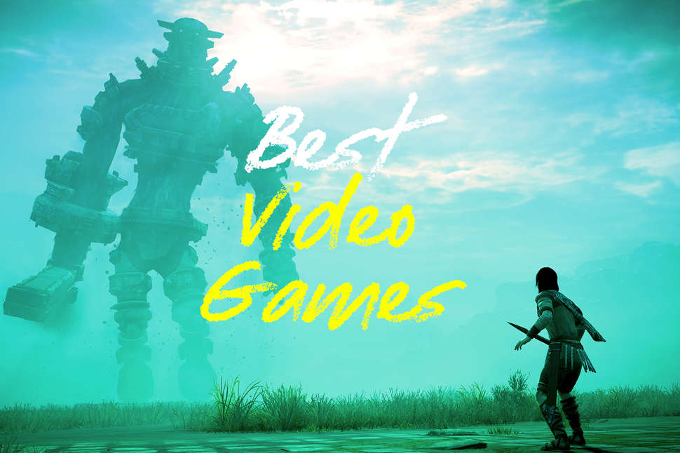 best video games 2018 shadow of the colossus