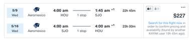 cheap flights Costa Rica