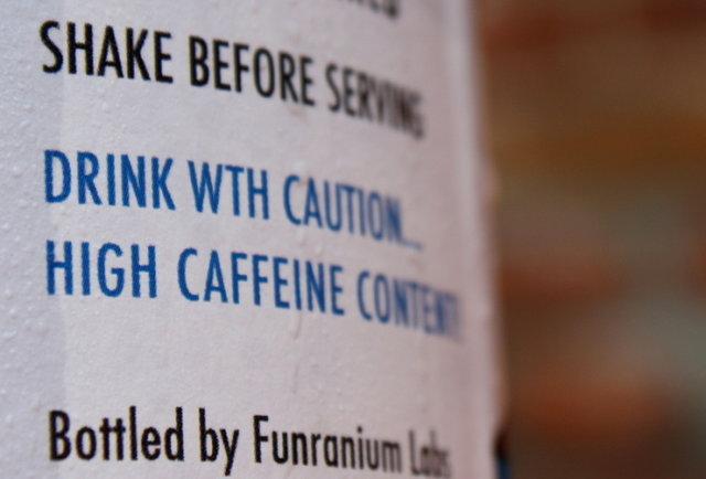 Science-y coffee with 40x more caffeine. Yep.
