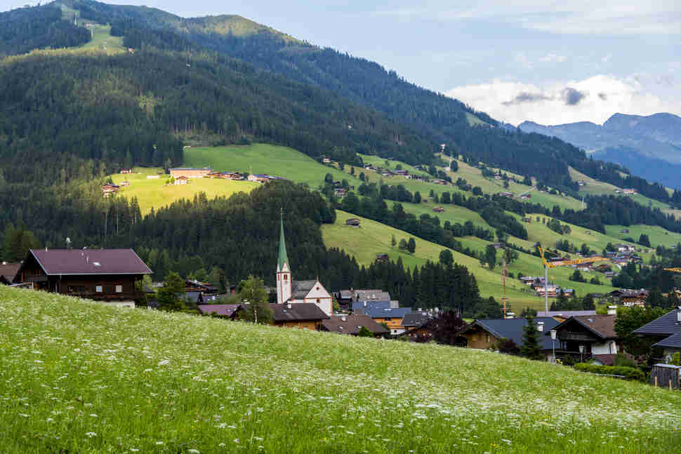 the alpbach, austria