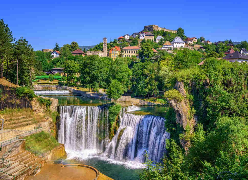 Pliva waterfall