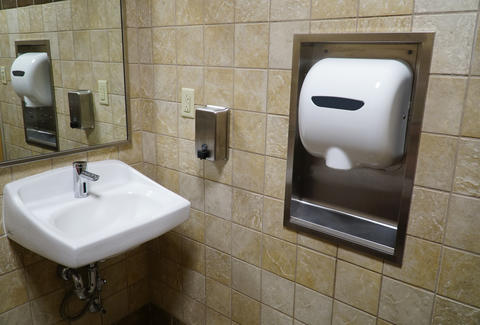 bathroom hand dryers spray poop particles everywhere study reveals rh thrillist com bathroom hand dryer study bathroom hand dryers spray feces
