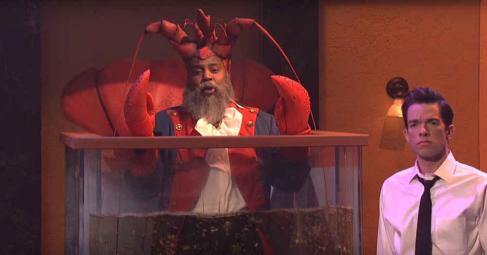 Snl Watch The Weird Lobster Diner Sketch With John Mulaney Thrillist