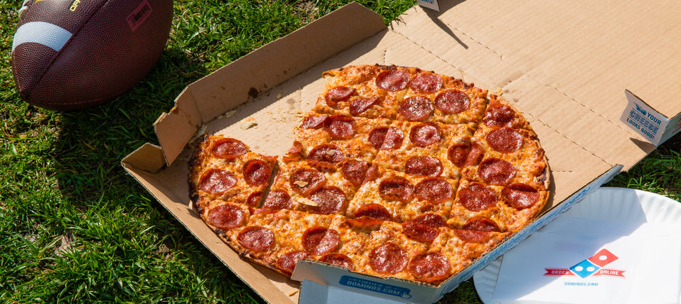 We Tried Domino's New Outdoor Delivery App (to Great Success)