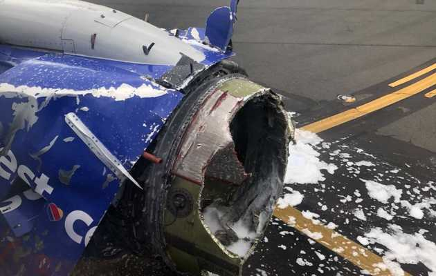 Flight Makes Emergency Landing After Engine Failure, Woman 'Partially Sucked Out' Window