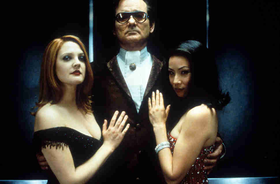 Bill Murray, Lucy Liu, and Drew Barrymore in 'Charlie's Angels.'