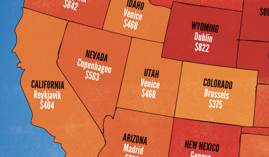 Here's the Cheapest Flight to Europe From Every U.S. State