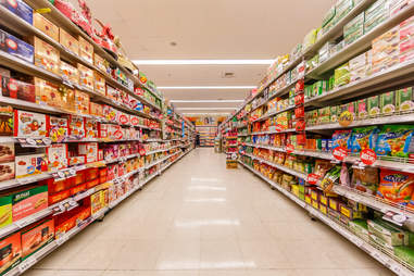 grocery store aisles