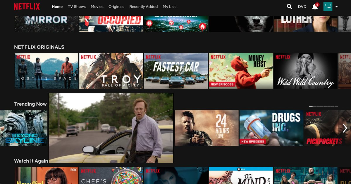 Netflix autoplay previews why they still exist and how to - Home shows on netflix ...