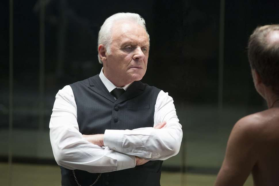 Anthony Hopkins as Robert Ford in 'Westworld'