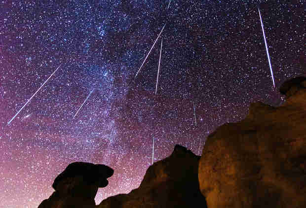 The Stunning Lyrid Meteor Shower Peaks Saturday Night, Here's How to Watch