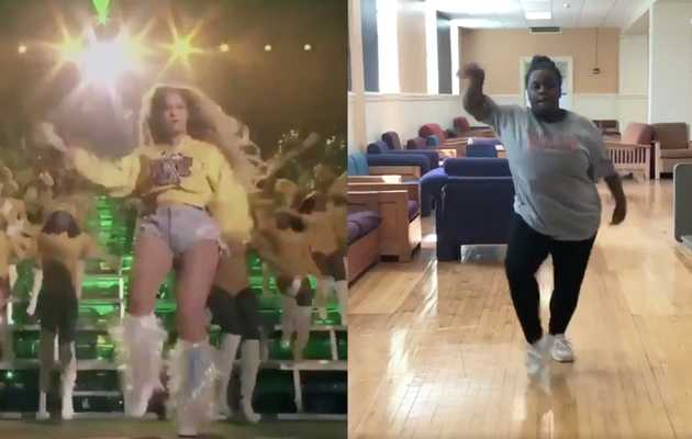 Teen Completely Nails Beyoncé's Coachella Dance Routine & Twitter Is Freaking Out