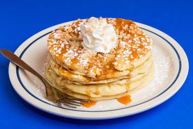 IHOP toffee pancakes