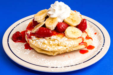 IHOP strawberry banana pancakes