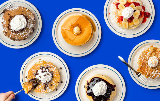 Every IHOP Pancake, Ranked