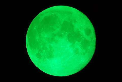 what is the green moon the 420 green moon hoax explained thrillist