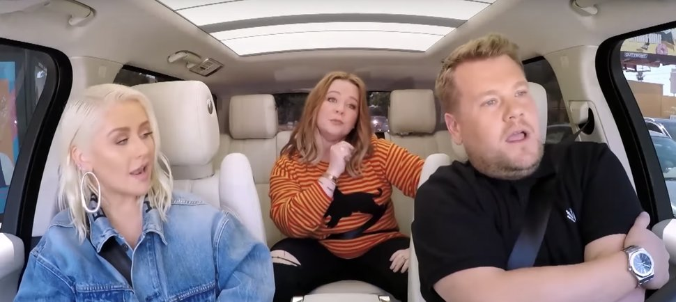 Christina Aguilera Just Did 'Carpool Karaoke' & It Featured Melissa McCarthy Rapping