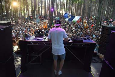 Kygo at music festival