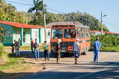 Local bus Cuba