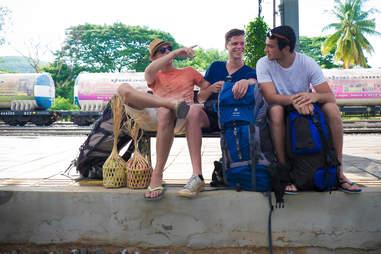 boys traveling together