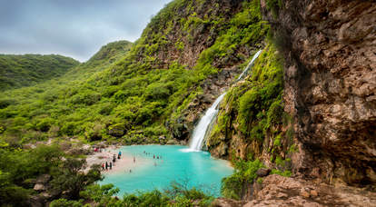 Ayn khor water falls