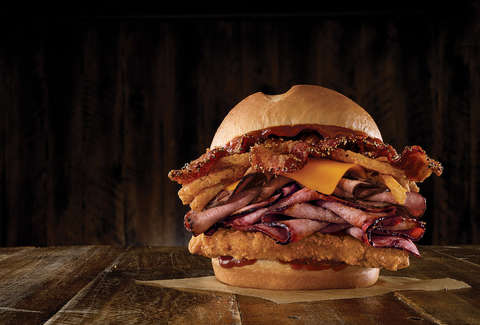 arby's bbq triple stack
