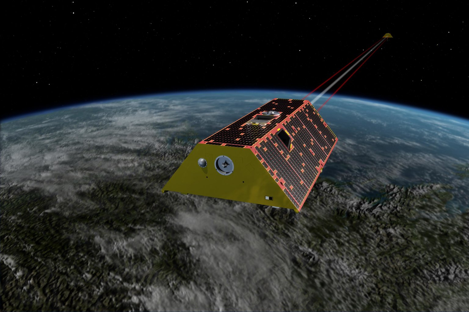 NASA GRACE-FO Satellites Will Track Changes to Earth's Water and Ice