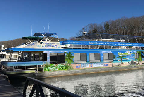 There's a Margaritaville Booze Cruise on Lake Lanier in
