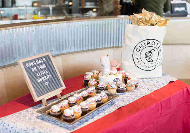 Baby Shower Stamps Us Postal Service ~ Chipotle threw a baby shower for woman who gave birth at