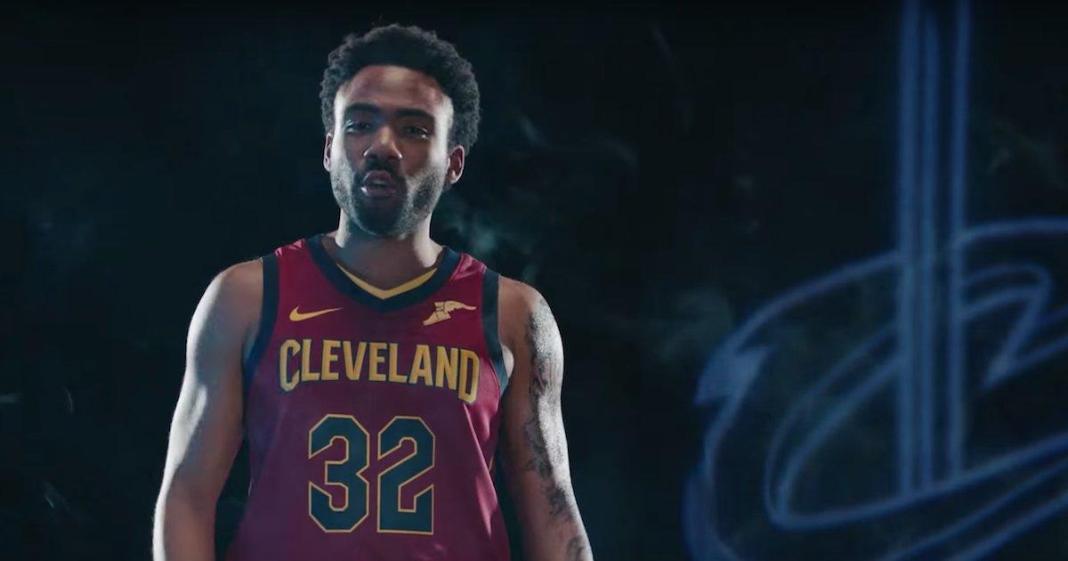 92442d27ae33 Donald Glover Trolls LeBron James   Cleveland Cavaliers in SNL Skit -  Thrillist