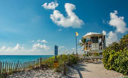 lifeguard tower beach