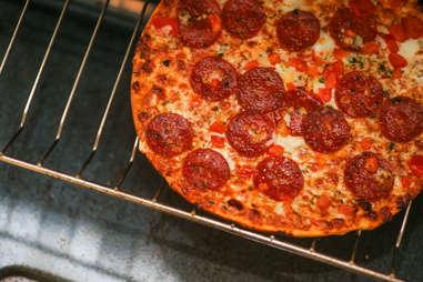 best California Pizza Kitchen frozen pie sauce pepperoni cheese crispy thin crust cheesy pep cpk