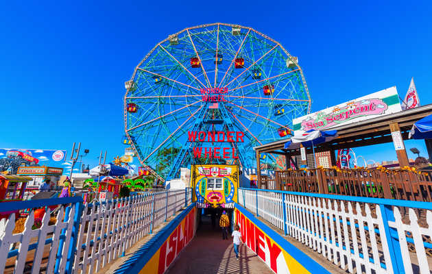 A Rickety Coaster, a 'Freak' Show, and Booze: It's Coney Island, Baby!